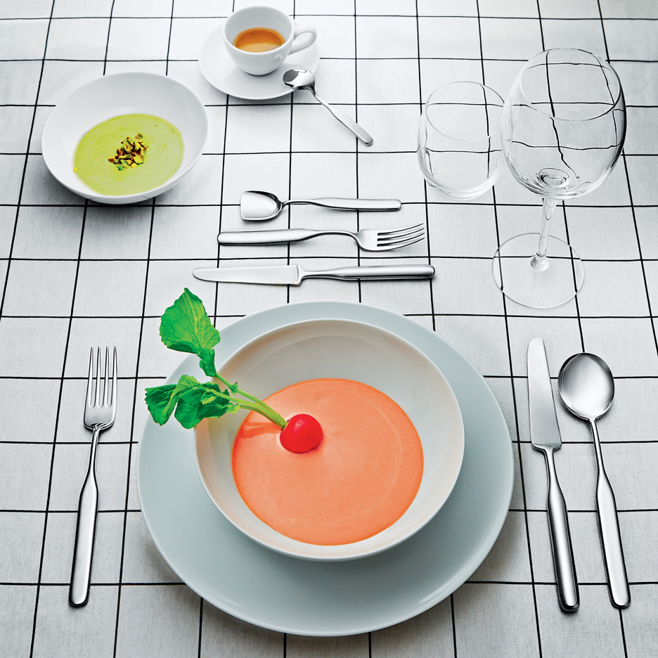 Inga Sempe tableware for Alessi
