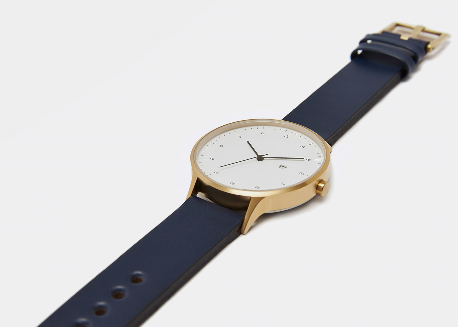Instrmnt 01-DZN limited-edition watch launche available from Dezeen Watch Store