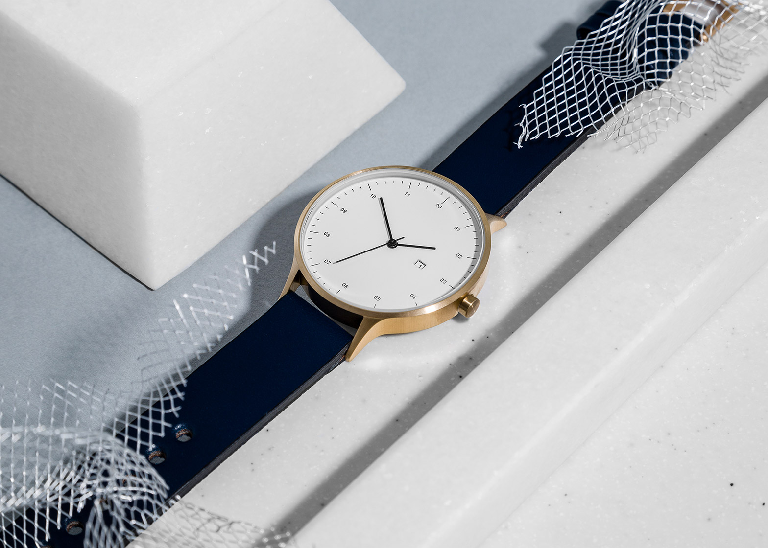 Instrmnt 01-DZN watch launches at Dezeen Watch Store