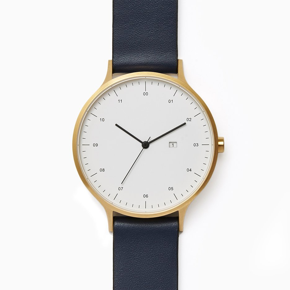 Instrmnt 01-DZN limited-edition watch launches at Dezeen Watch Store