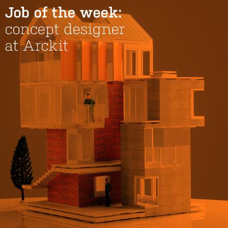 Dezeen job of the week