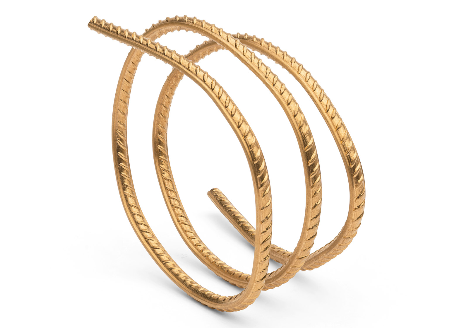 Ai Weiwei\'s first jewellery collection is shaped like coiled rebars