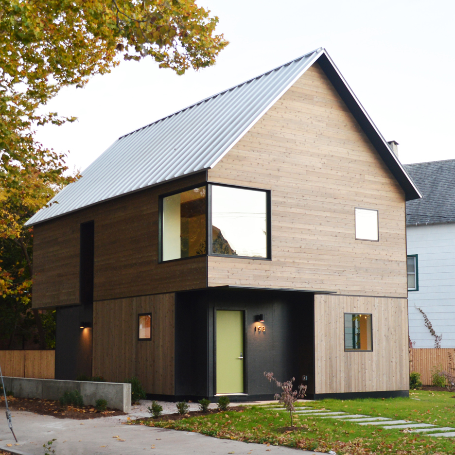 Low cost housing archives dezeen for Have a house built cost