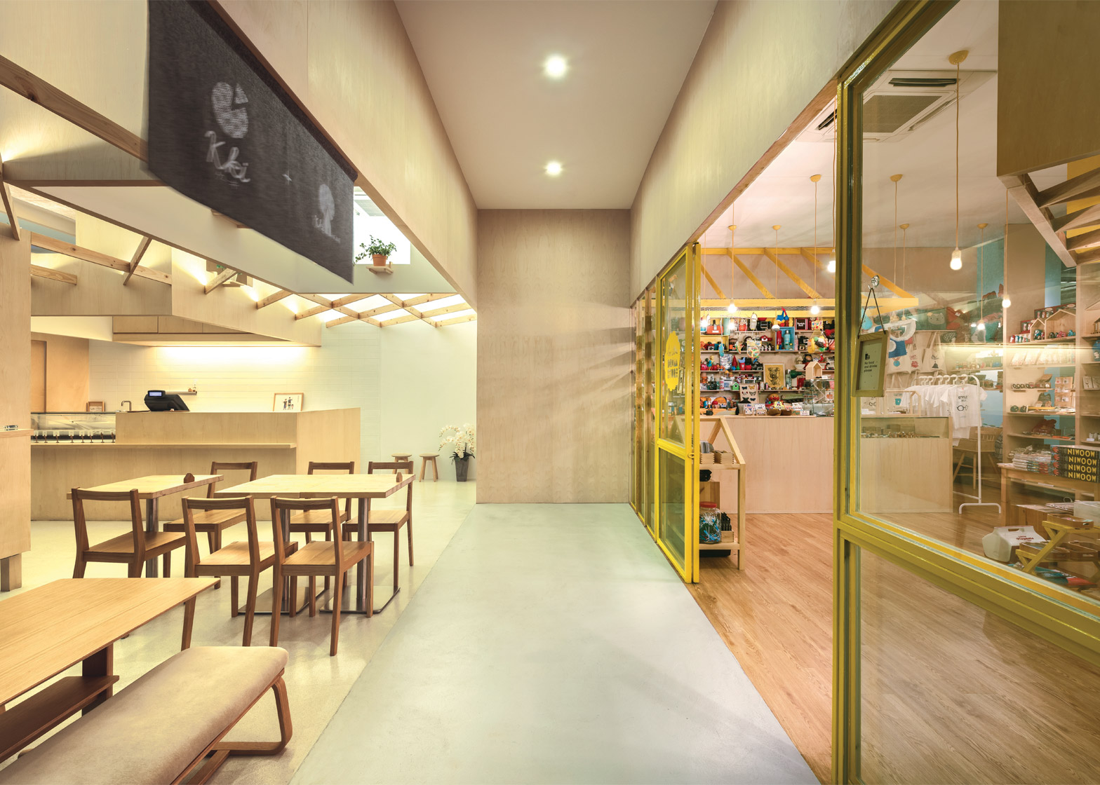 KKi Sweets and the Little Drom Store, Singapore, by Produce Workshop