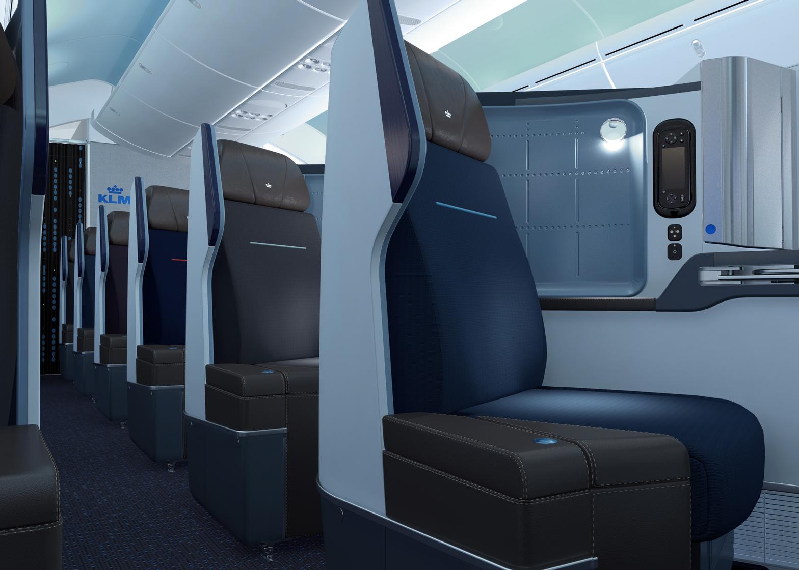 Hella Jongerius Designs Interiors For KLMu0027s Boeing 787 Aircraft