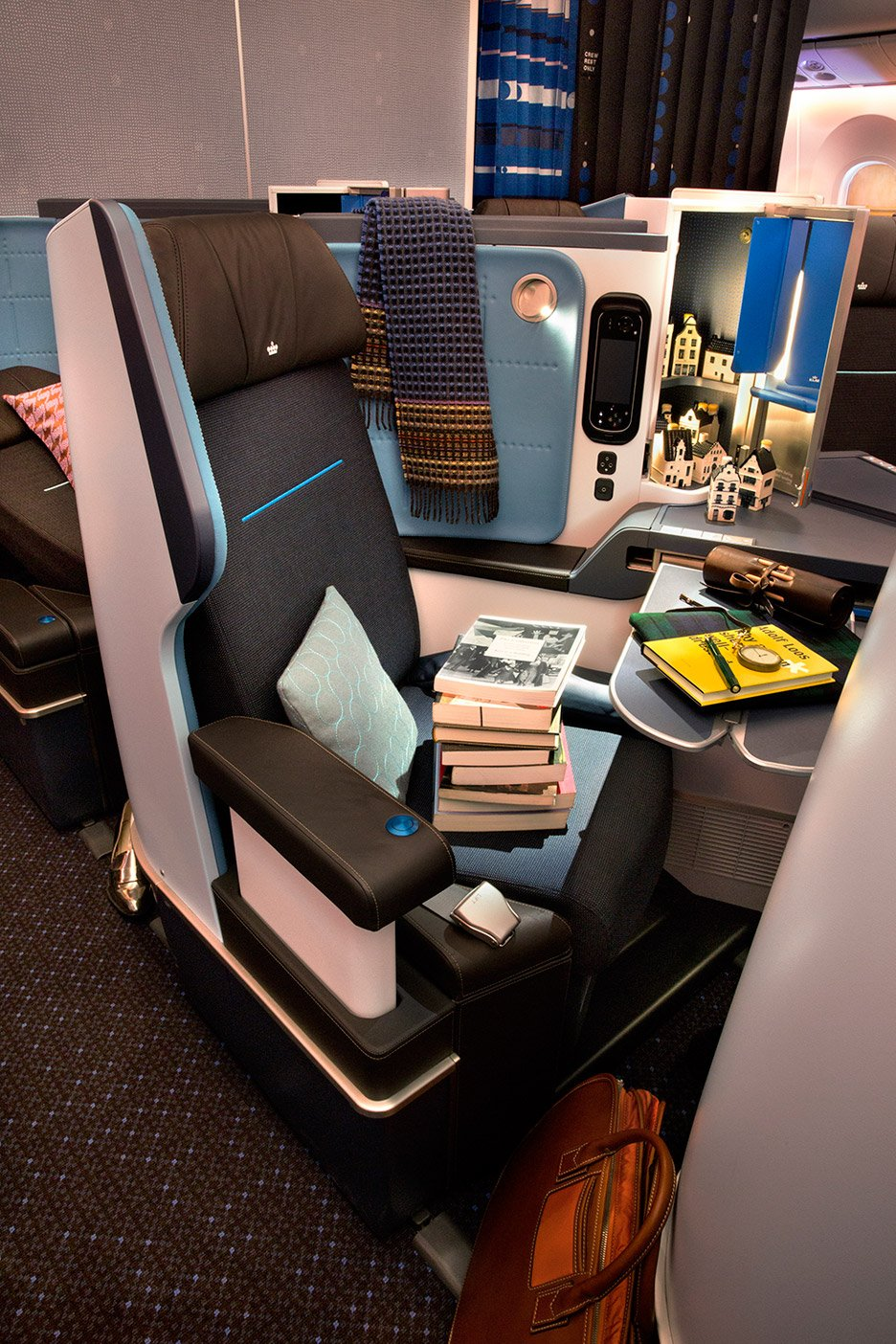 KLM's Boeing 787 aircraft by Hella Jongerius