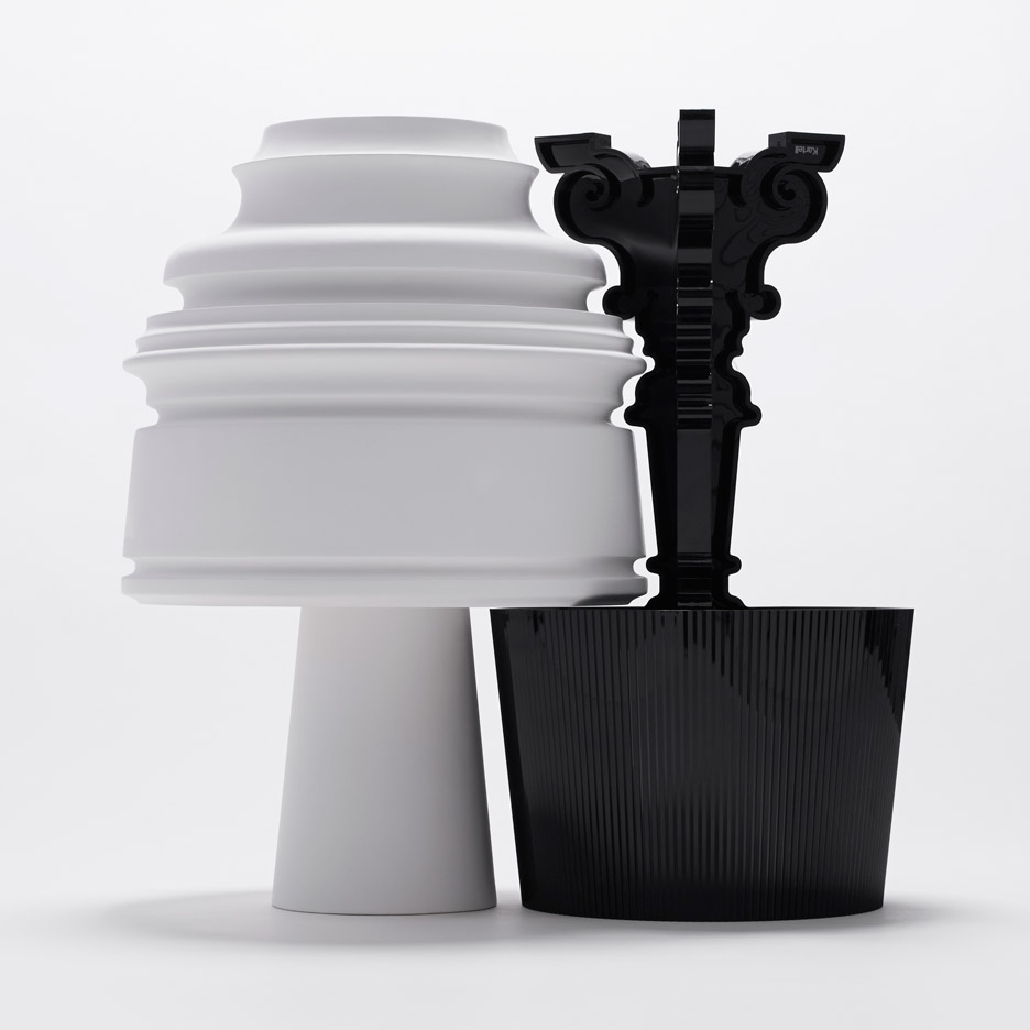 Bourgie table lamp reinterpretation