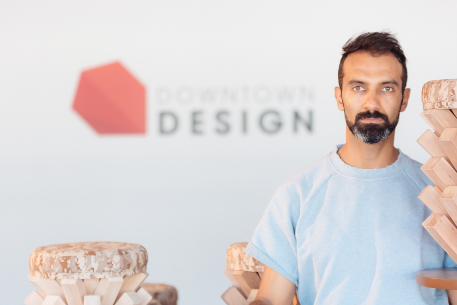 Khalid Shafar at Downtown Design Dubai