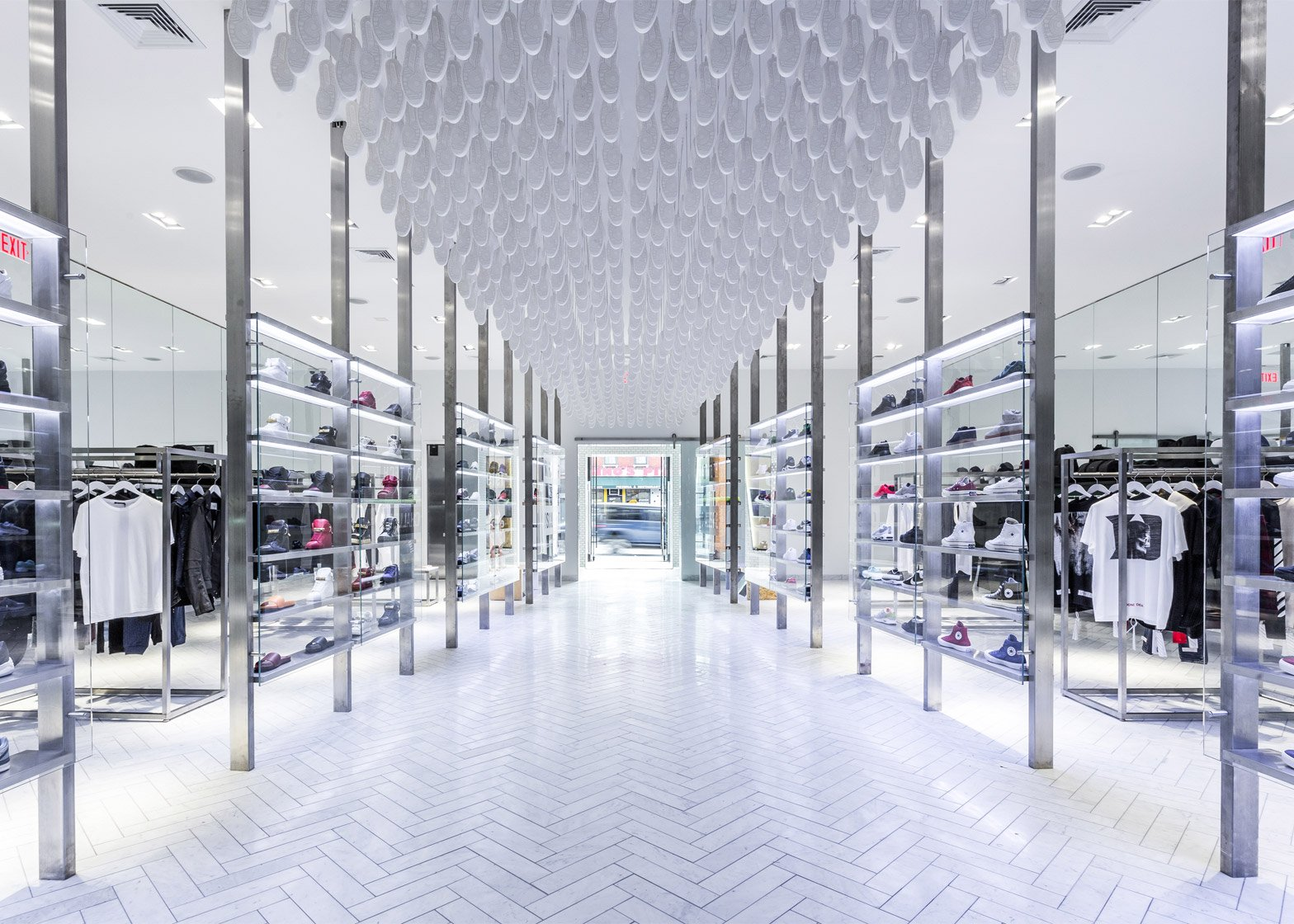 Kith flagship by Snarkitecture