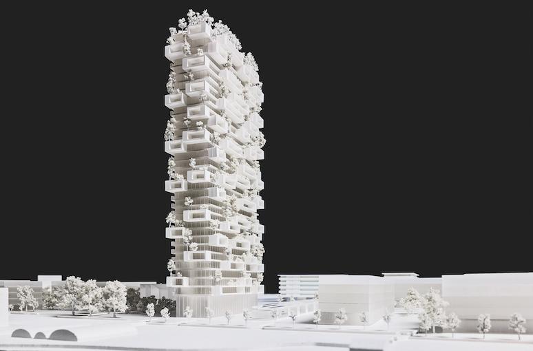 La Tour des Cedres in Lausanne, Switzerland by Stefano Boeri Architetti