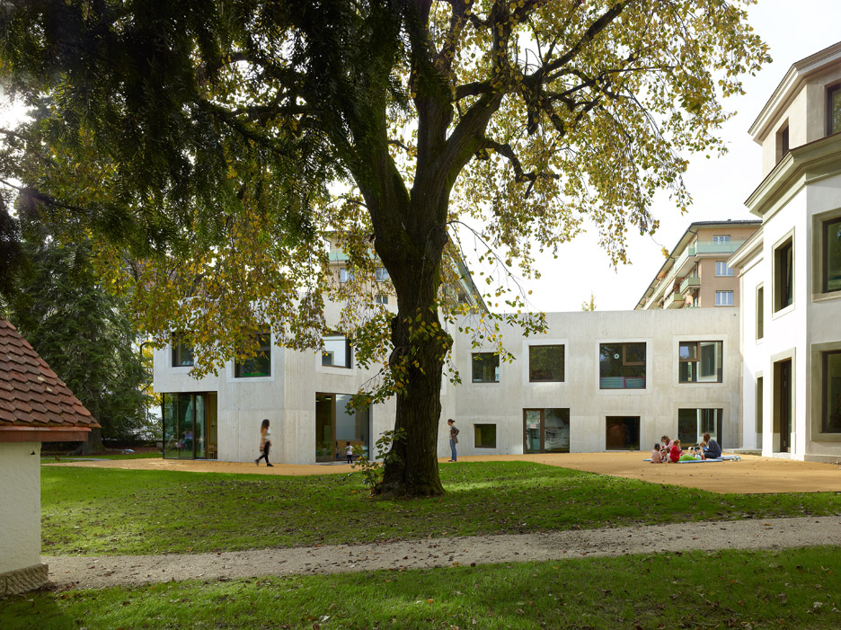 Le Gazouillis Day Nursery in Geneva by Omar Trinca