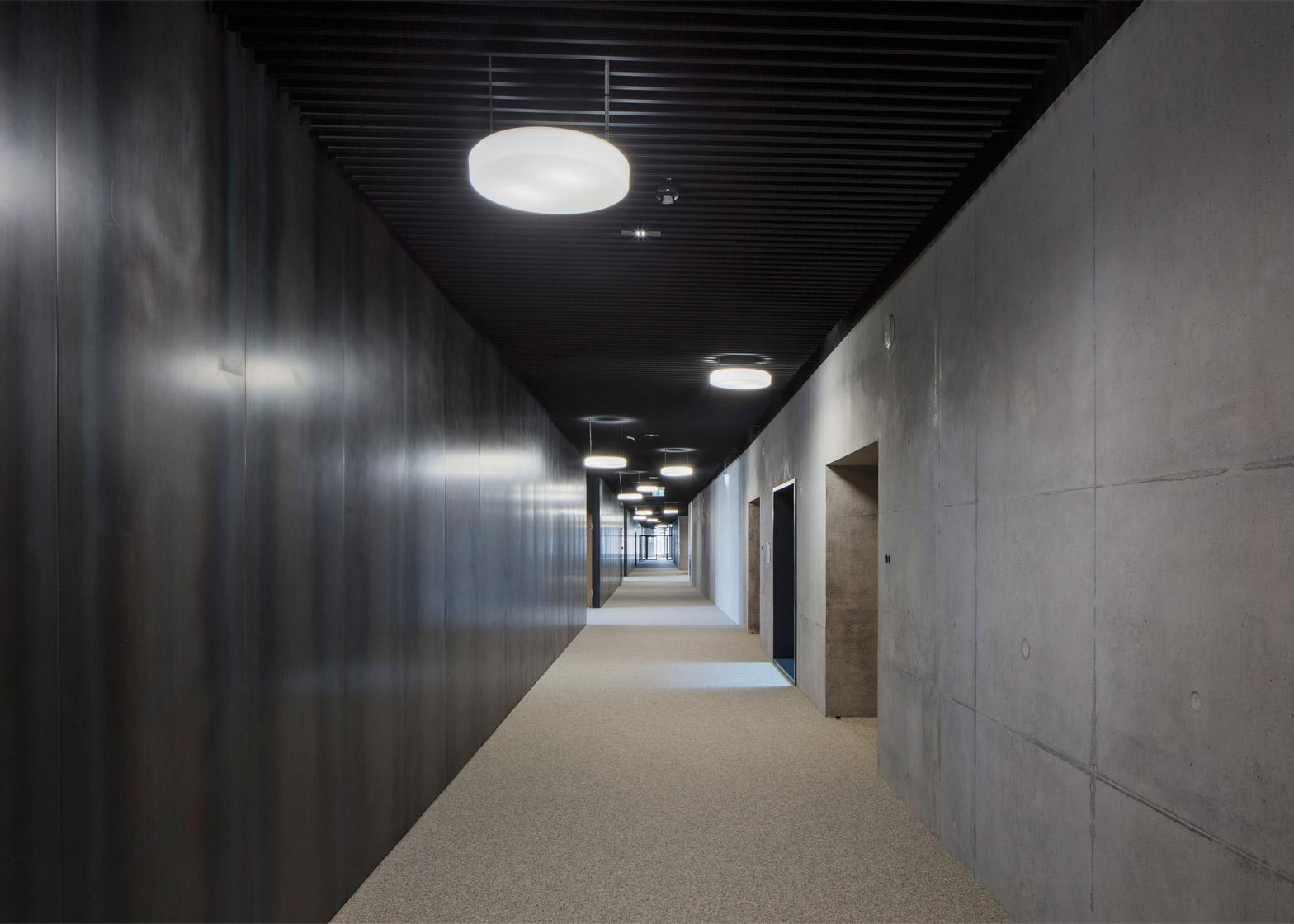 University of Luxembourg's Maison du Savoir by Baumschlager Eberle and Christian Bauer & Associés Architectes