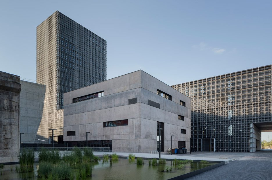 University of Luxembourg's Maison du Savoir by Baumschlager Eberle and Christian Bauer & Associés Architectes
