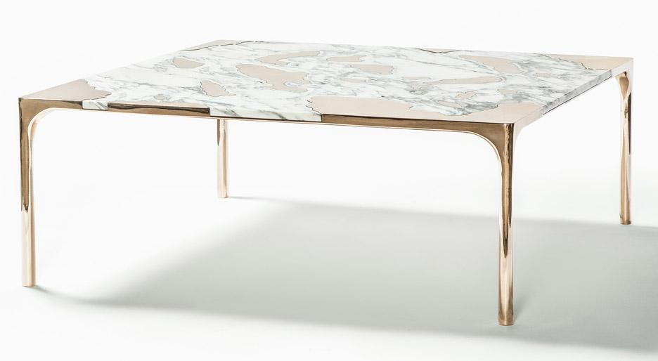 Marble vs Bronze coffee tables by gt2P