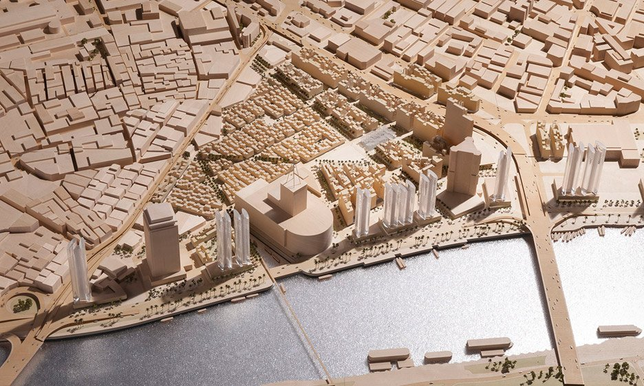 Maspero Triangle District by Foster + Partners