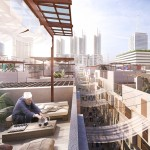 Foster unveils winning masterplan for waterfront Cairo neighbourhood