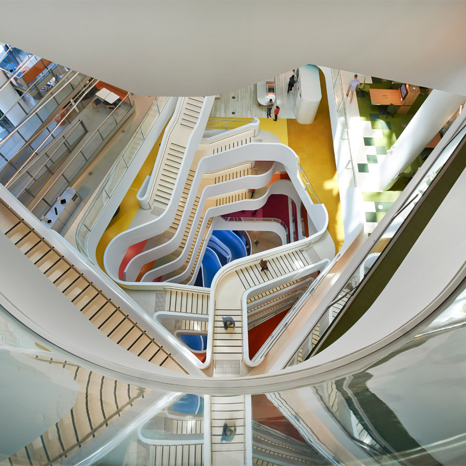 Medibank Workplace, Melbourne, Australia, by Hassell