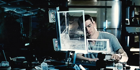 Minority Report film still