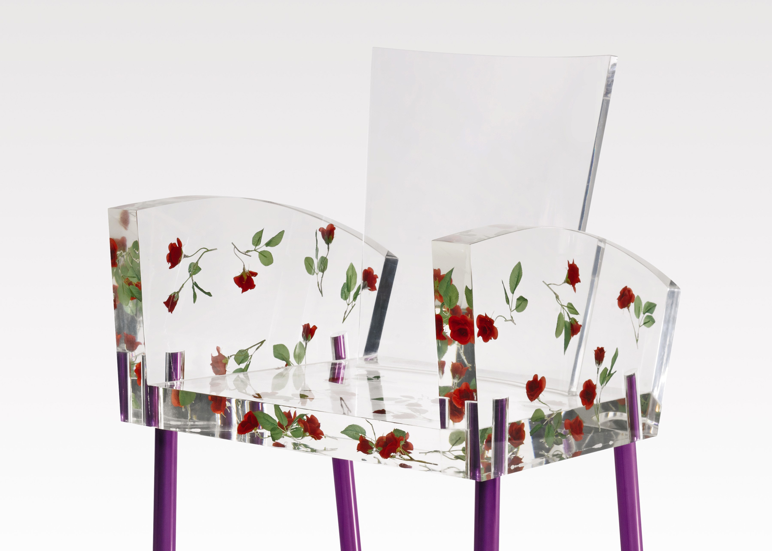 Miss Blanche Chair by Shiro Kuramata