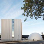 Trio of geometric forms by Shift Architecture Urbanism form new Dutch museum complex
