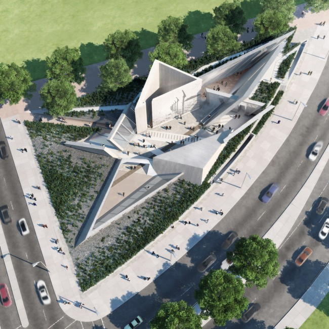 National Holocaust Monument by Daniel Libeskind in Ottawa, Canada