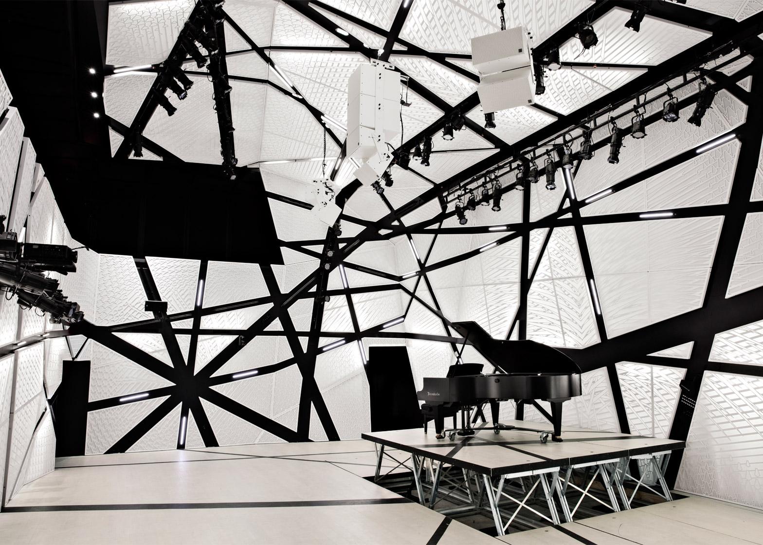 National Sawdust music hall by Bureau V in Brooklyn