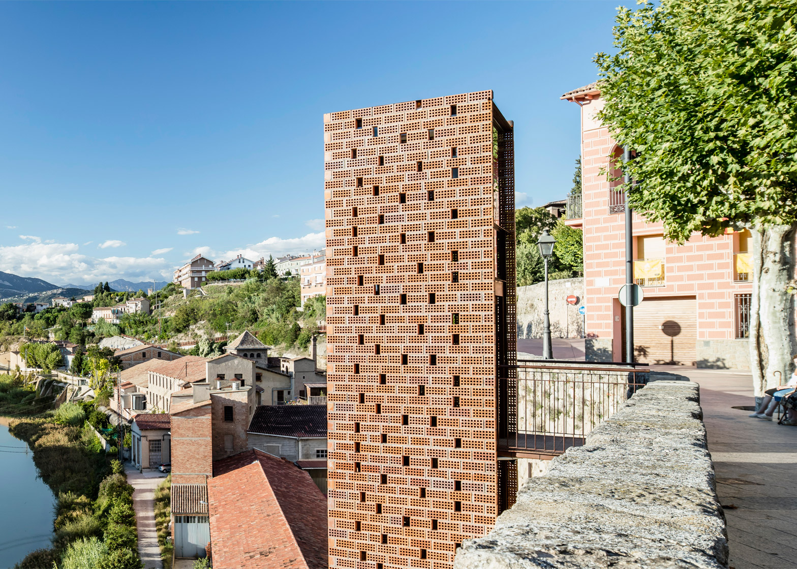 New Access to Gironellas Historic Cente by Carles Enrich