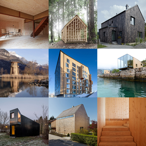 New Dezeen Pinterest board full of timber architecture