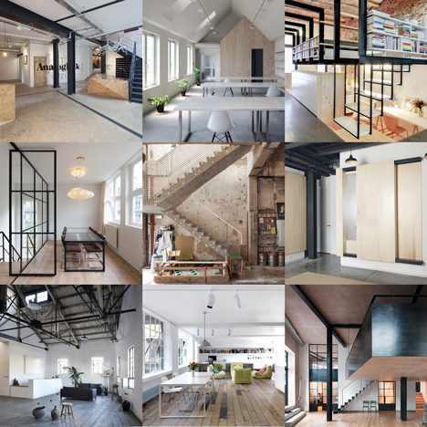 New Dezeen Pinterest board full of warehouse conversions