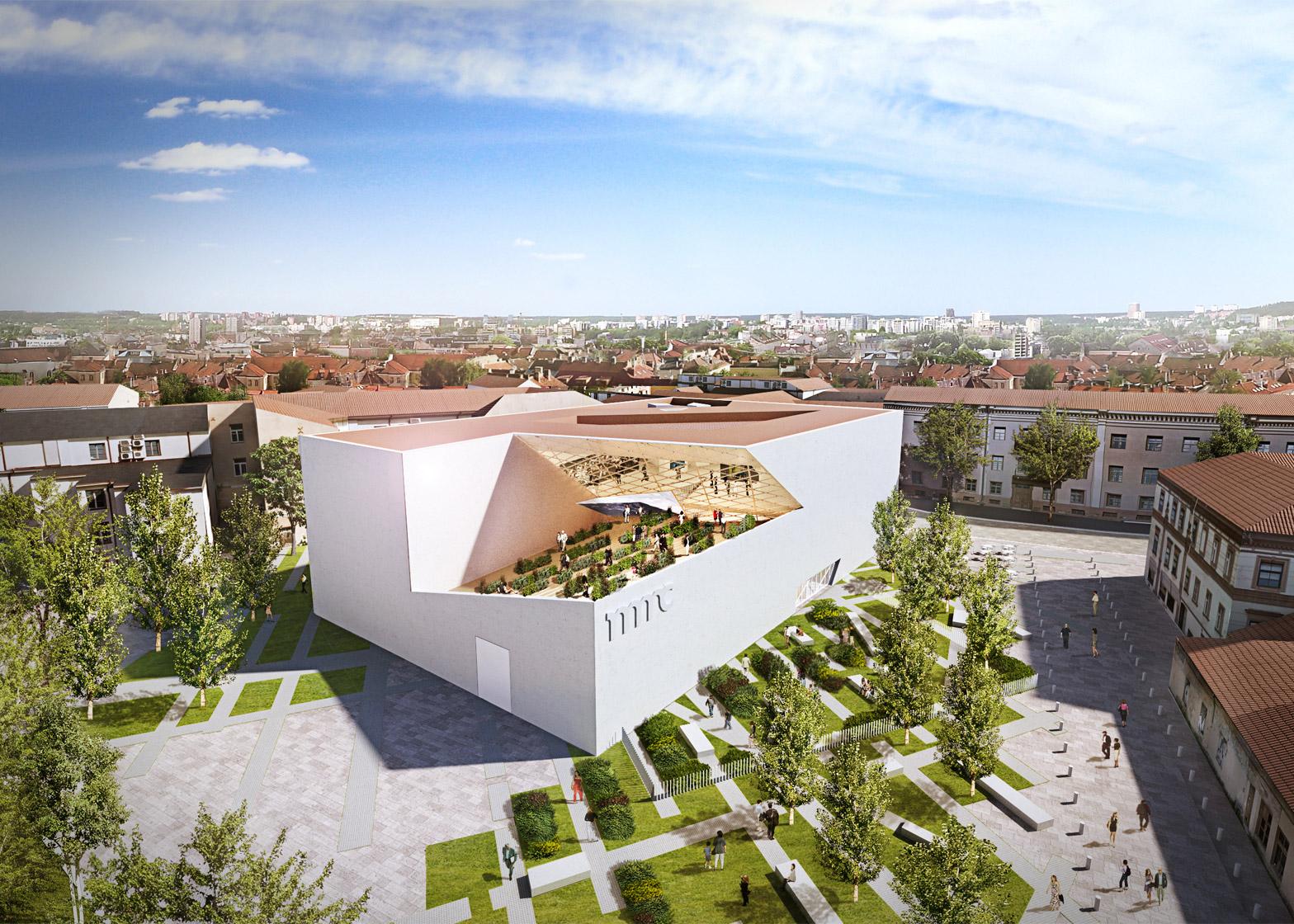 Modern Art Center Vilnius by Studio Libeskind