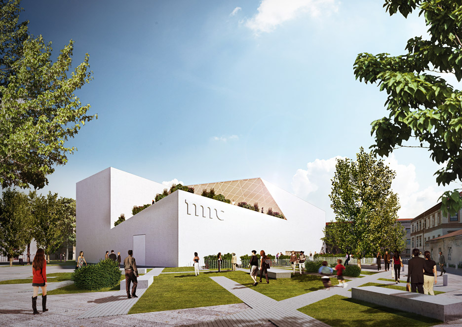 Modern Art Center Vilnius by Studio Libeskind