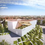 Daniel Libeskind designs angular white concrete and glass museum for Lithuanian art