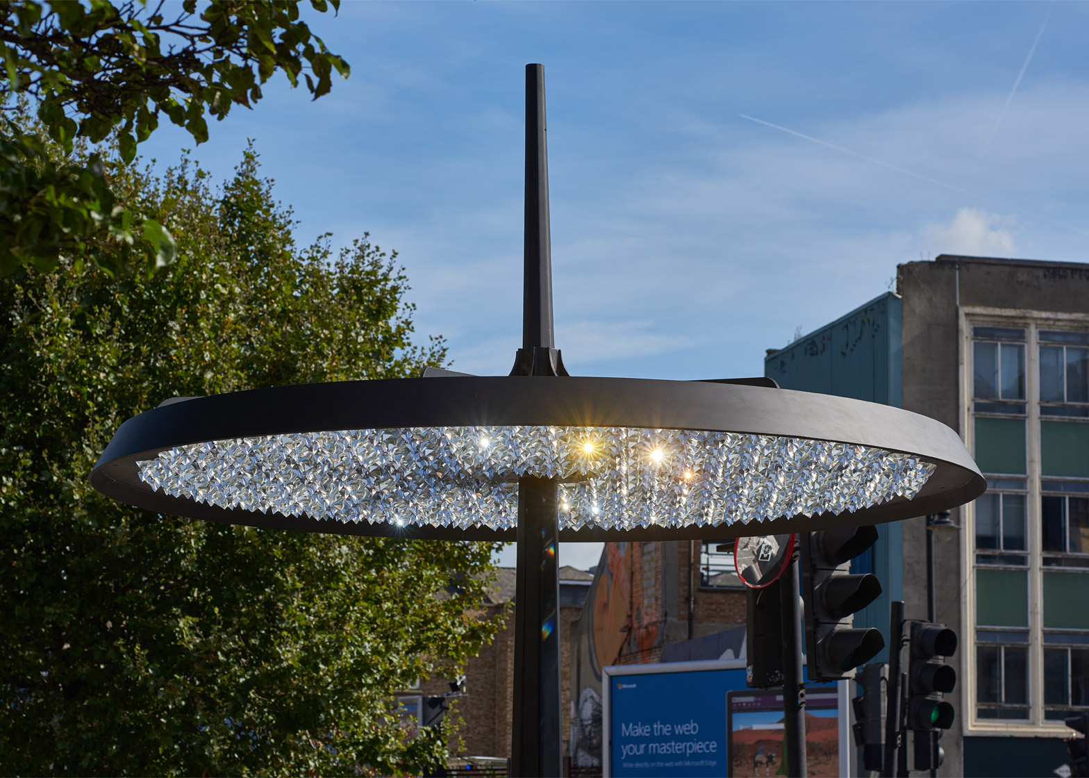 Ommatidium sculpture by Sam Wilkinson