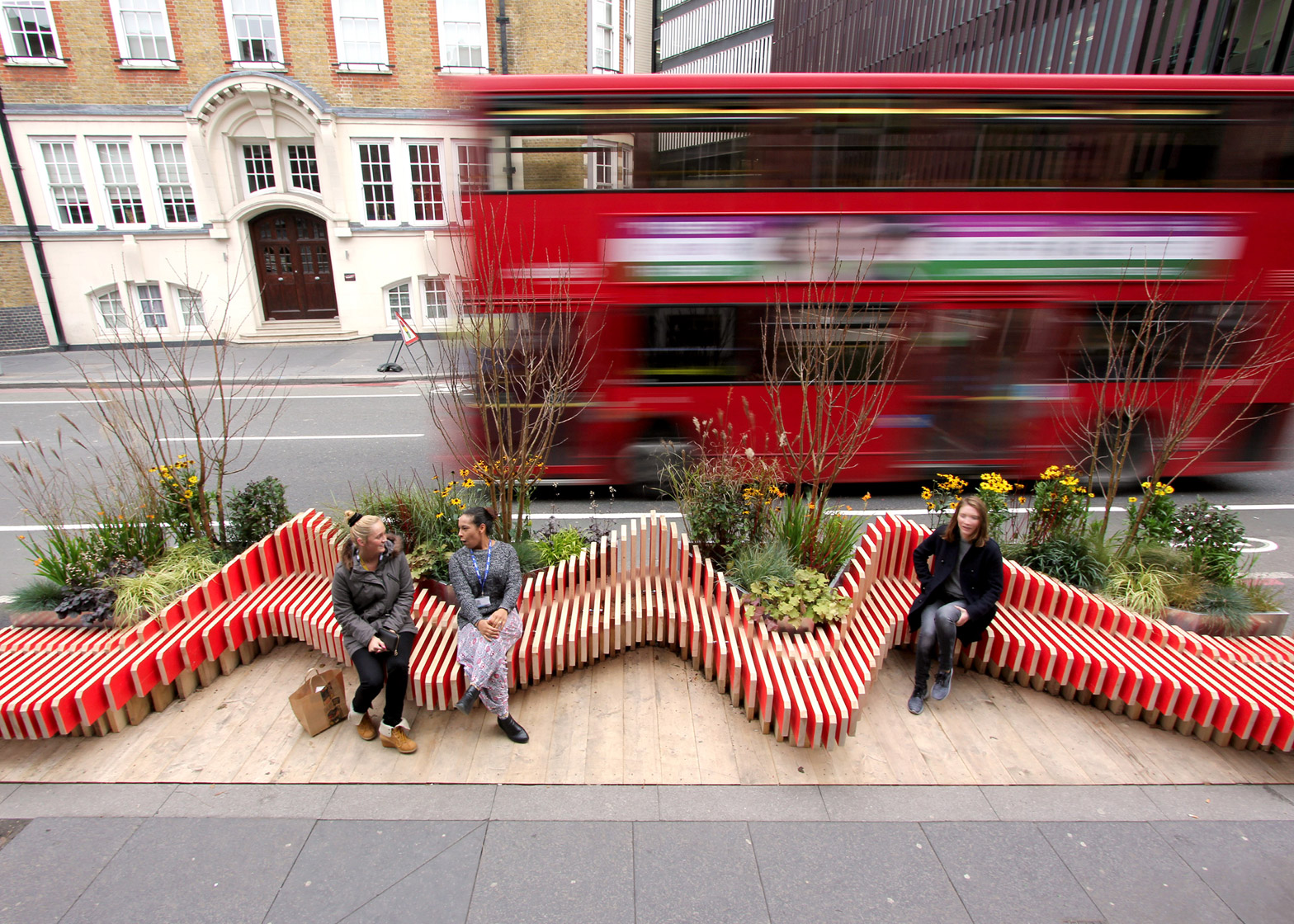 Parklet By Wmb Studio Adds Greenery To London S Streets