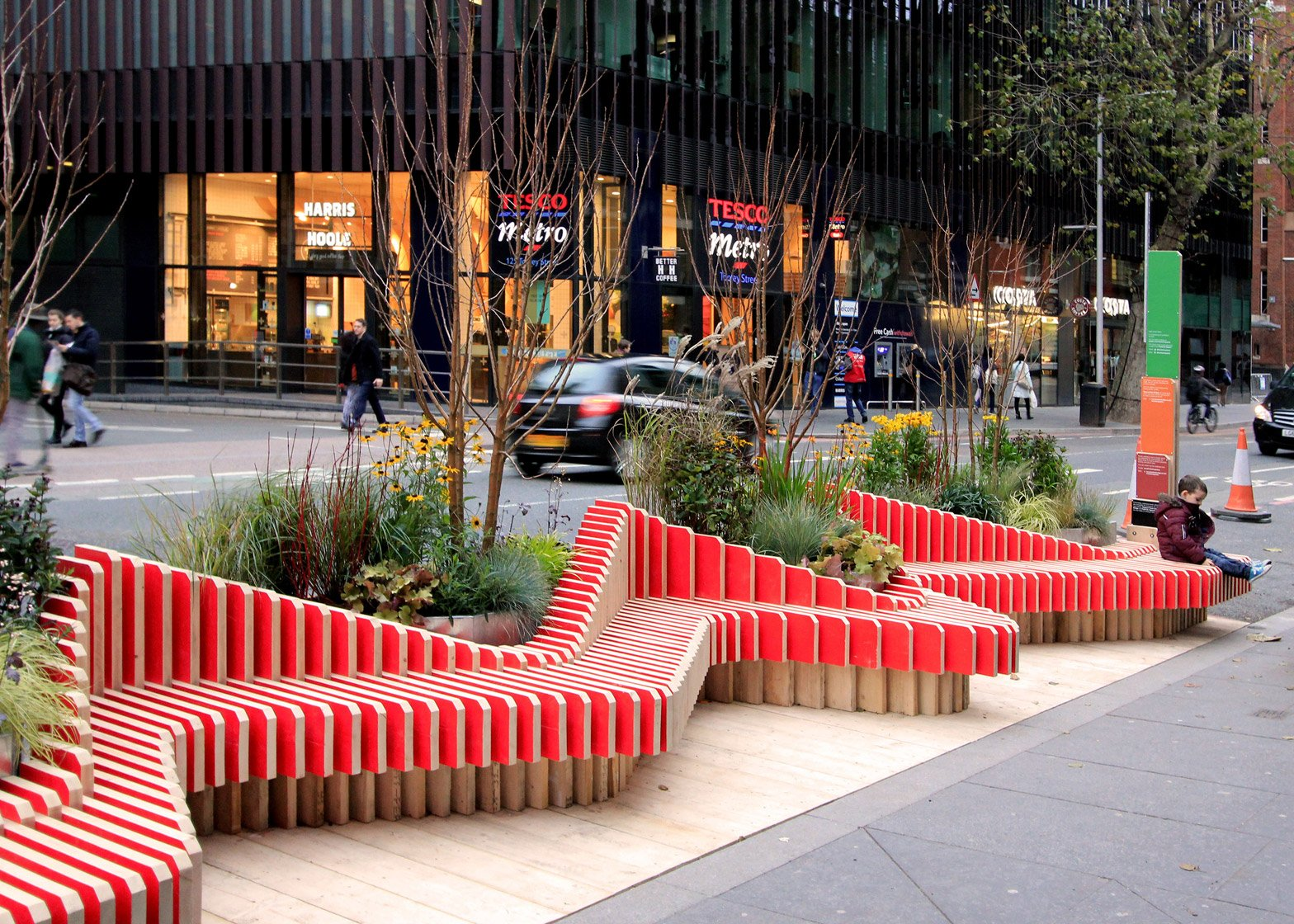 Parklet Bench by WMB Studio