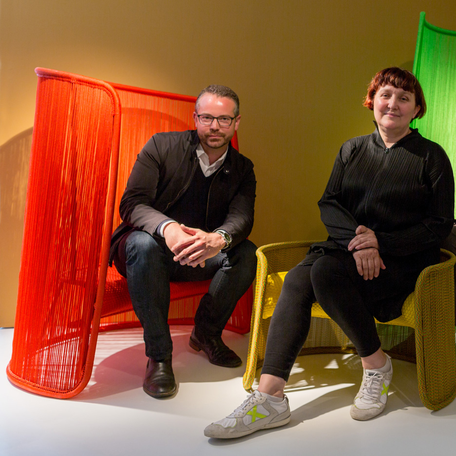 Patrizia Moroso and Marc Thorpe
