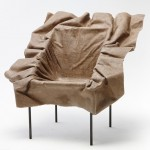 Demeter Fogarasi's Poetic Furniture chair appears to have been blown into shape