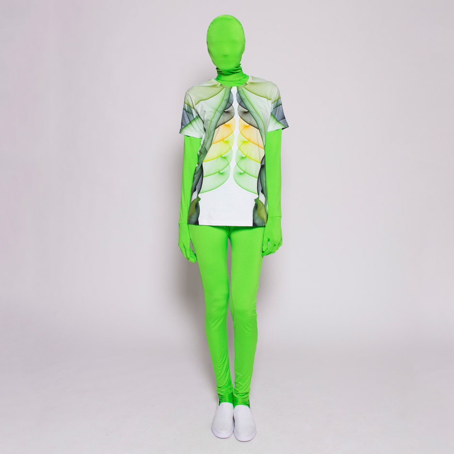 Print All Over Me fashion collection by artist Lia and studio Sosolimited