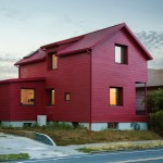 Waechter Architecture updates century-old Portland house with a bright red facade