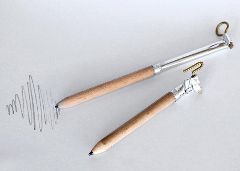 Tube Pencil by Yam Amir