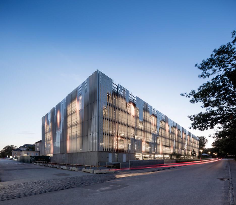 Rigshospitalet by 3XN in Copenhagen