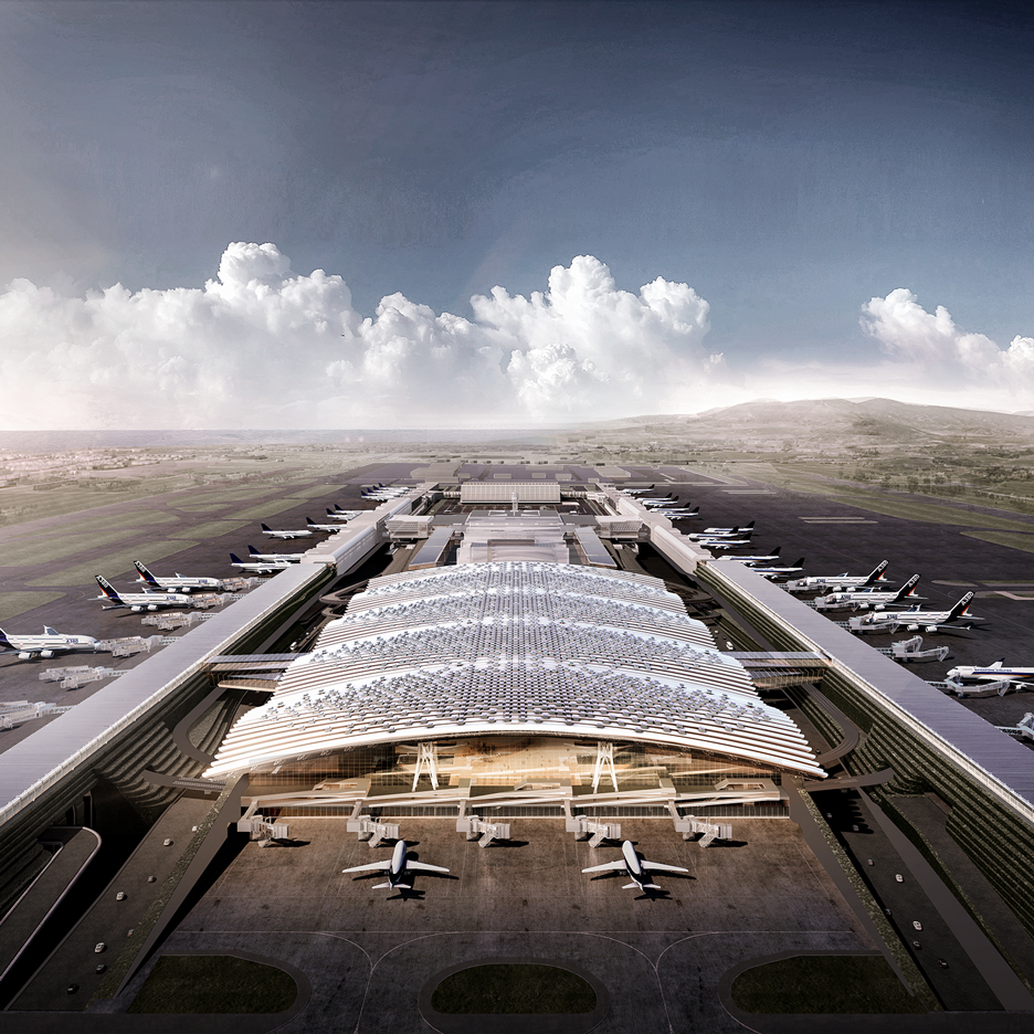 Richard Rogers wins Taiwan Taoyuan airport terminal competition