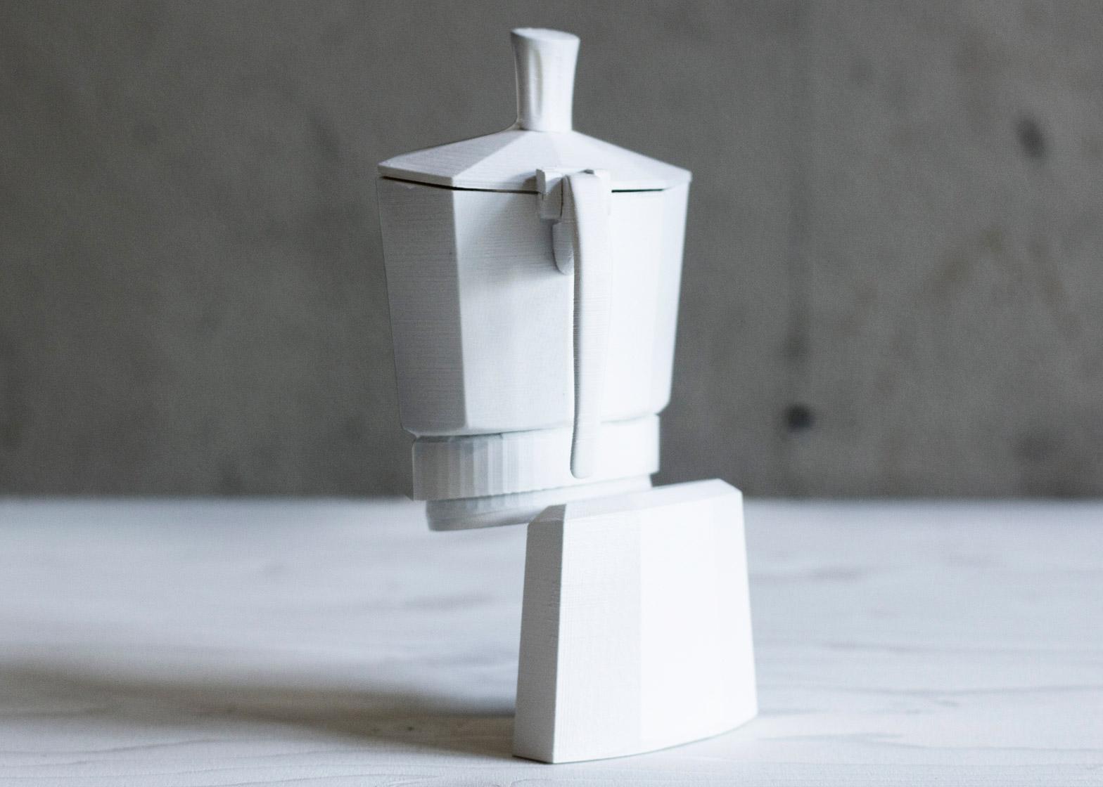 Screen Mutations ceramics by Louisa Zahareas