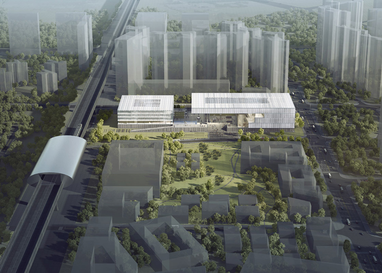 Shenzhen Art Museum and Library by KSP Jürgen Engel Architekten