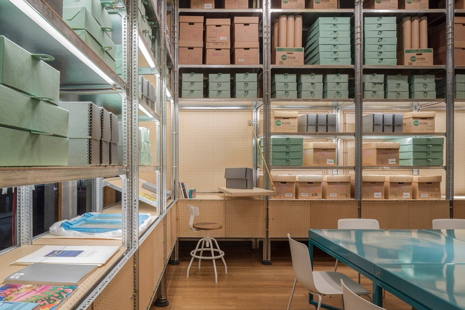 Southbank Centre Archive Studio by Jonathan Tuckey Design