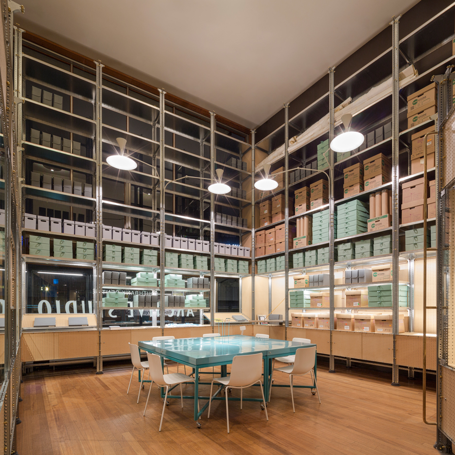 New Southbank Centre archive by Jonathan Tuckey Design utilises a 1950s shelving system