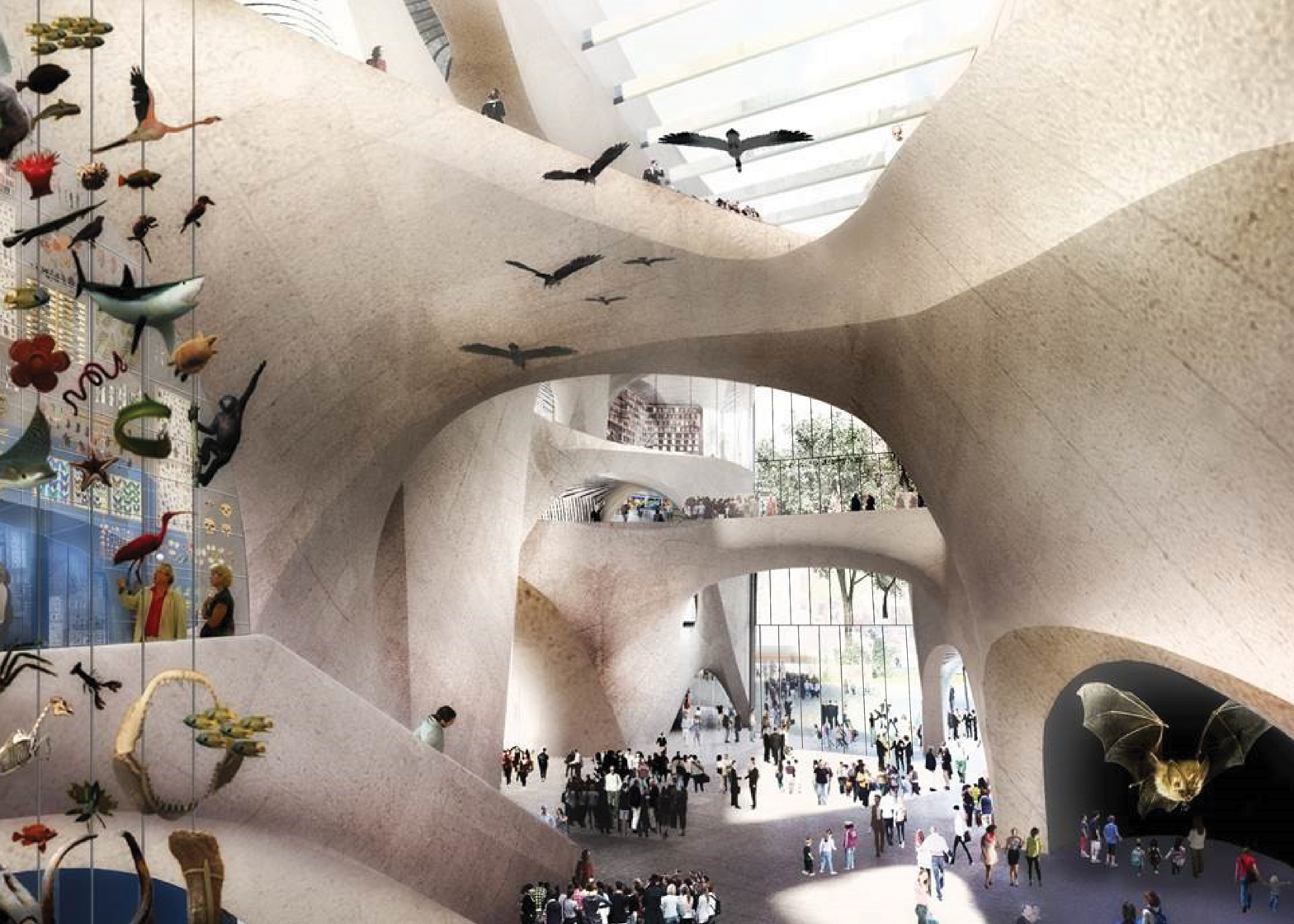 Studio Gang Museum of Natural History New York Gilder Center