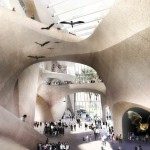 Studio Gang designs curving concrete expansion to New York's Natural History Museum