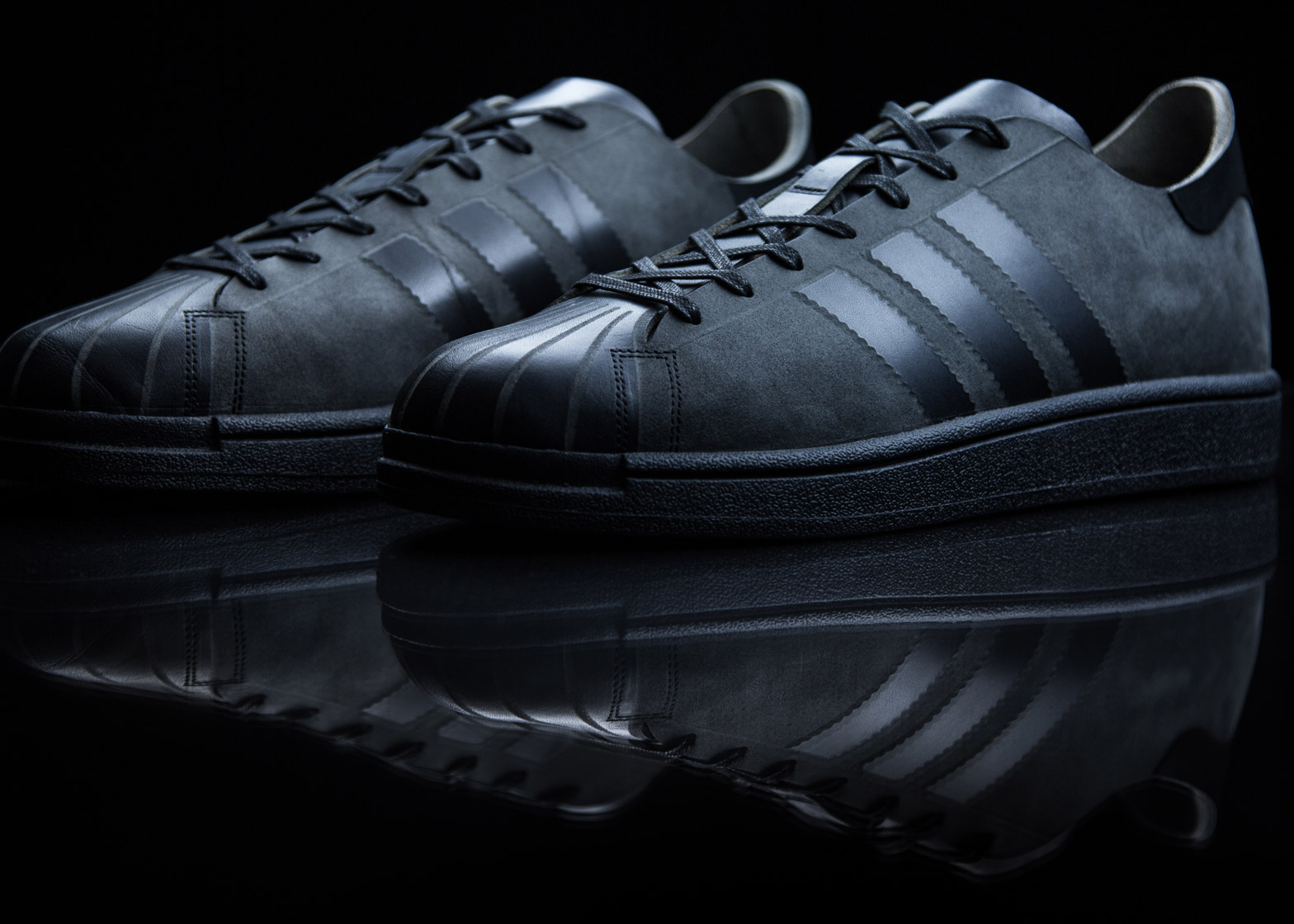 Adidas Superstar trainer by Alexander Taylor