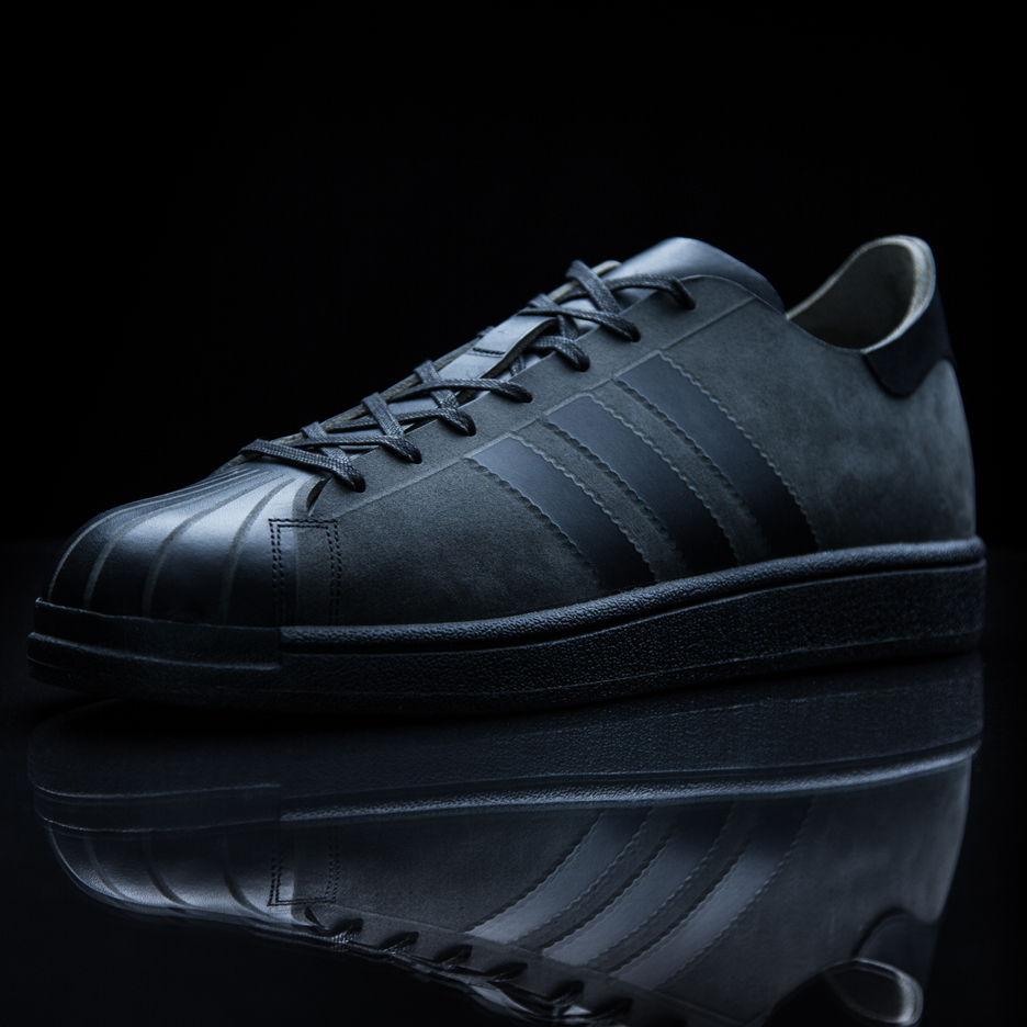 Alexander Taylor and Joachim de Callatay mill leather to create limited-edition shoe for Adidas